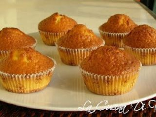 Muffin con yogurt greco