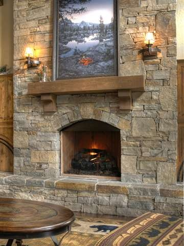 20 Best Images About Stone Fireplaces On Pinterest