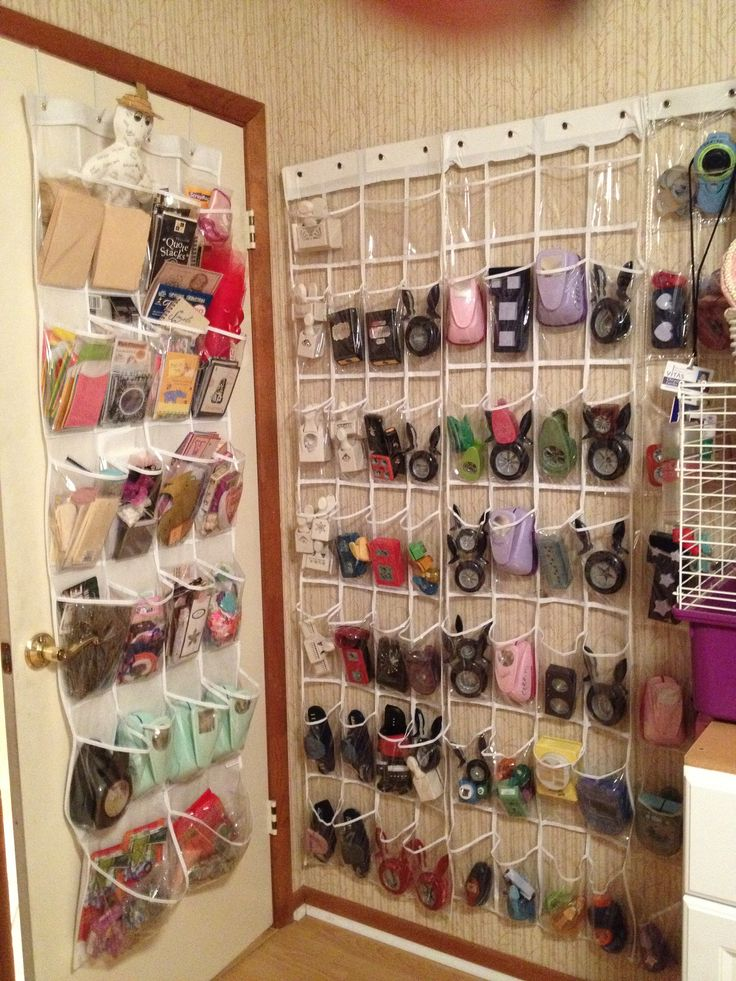 Craft tool storage ideas. This is a great idea. Already did it behind the door and it works.