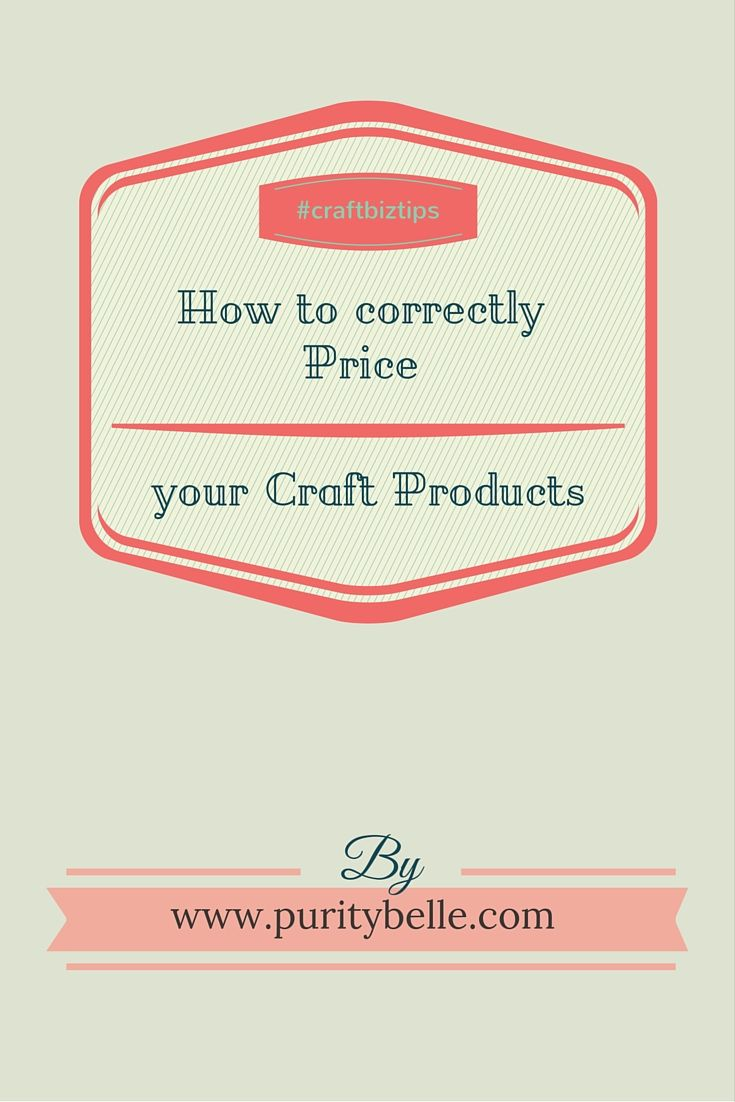 Pricing your products correctly, why it's so important and how to go about it.