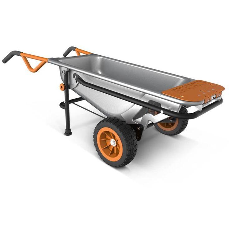 WORX Aerocart WG050 | Interesting multi-purpose alternative to a wheel barrow
