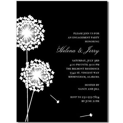 9 best engagement invitations images on Pinterest Engagement - engagement party invites templates