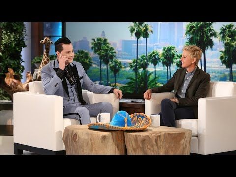 """Jack White Performs """"Alone In My Home"""", """"Would You Fight for My Love"""", Gets Interviewed on """"Ellen"""" 