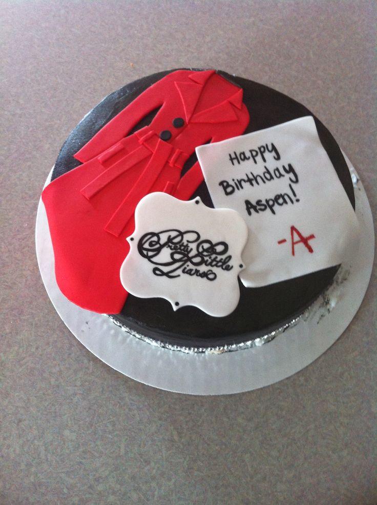 Pll Cake Ideas