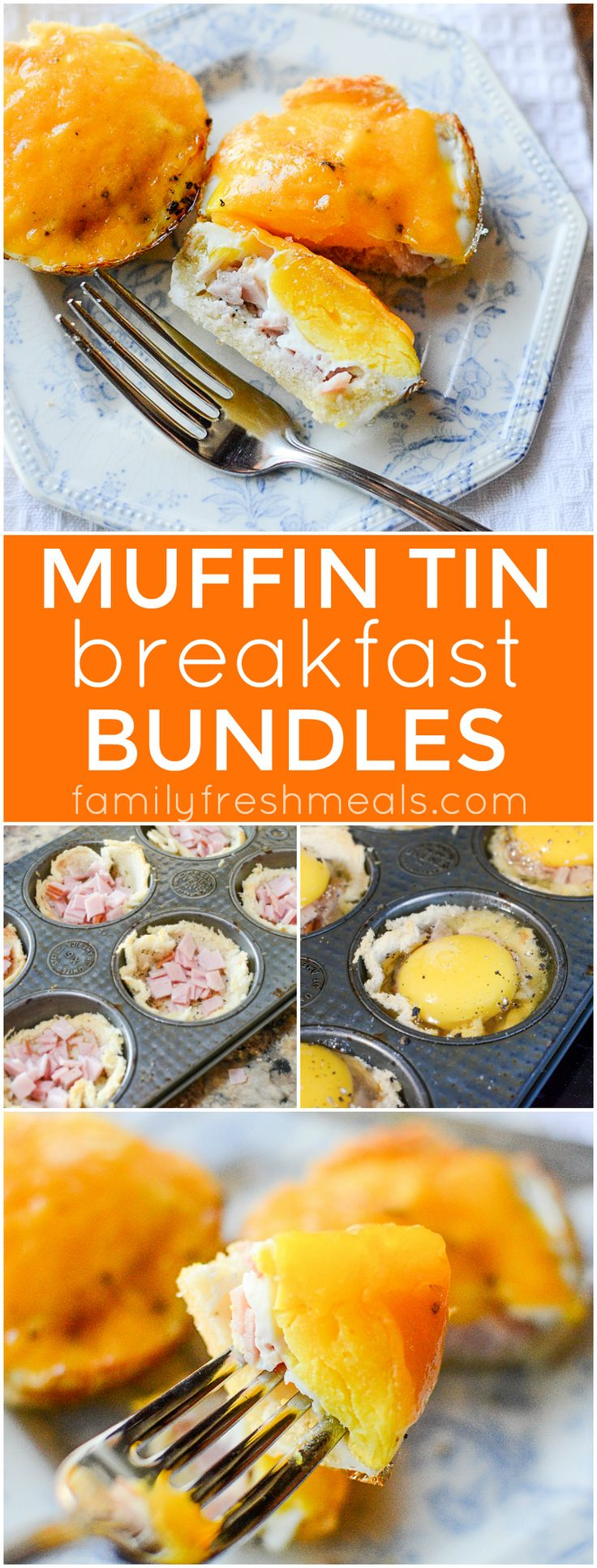 Easy Muffin tin breakfast bundles recipe - Family Fresh Meals