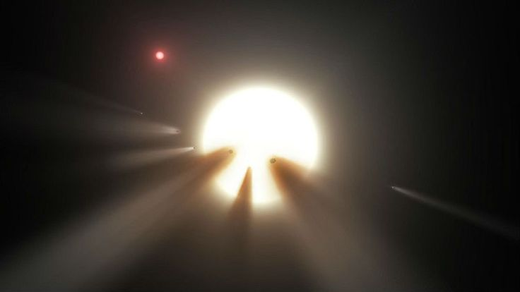 Since the news broke about this mysterious star in October of 2015, natural  explanations to the observed phenomena have been continually ruled  out—except for the possibility that the star's weird light curve is being  caused by a giant swarm of comets. Surprisingly, the 'alien megastructures'  hypothesis has also remained steadfast as a possible explanation—if you can  accept the idea that technologically advanced aliens exist in our galaxy  (and there isn't a shred of evid...