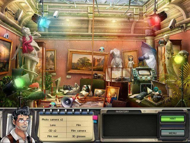 The Best Hidden Object Games You'll Find Online: Grace's Quest: To Catch an Art Thief