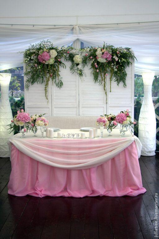 Купить Ширма-задник для декора президиума(аренда) - белый, ширма, задник, фон, свадьба, Декор