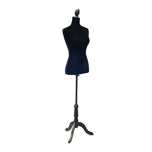 "HomCom 35"" 26"" 35"" Fashion Mannequin Female Dress Form w…"