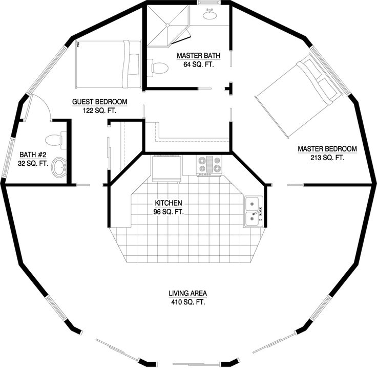 Dome Home Plans With Basements: 252 Best Dome Homes Images On Pinterest
