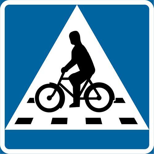 B8 – Cykelöverfart