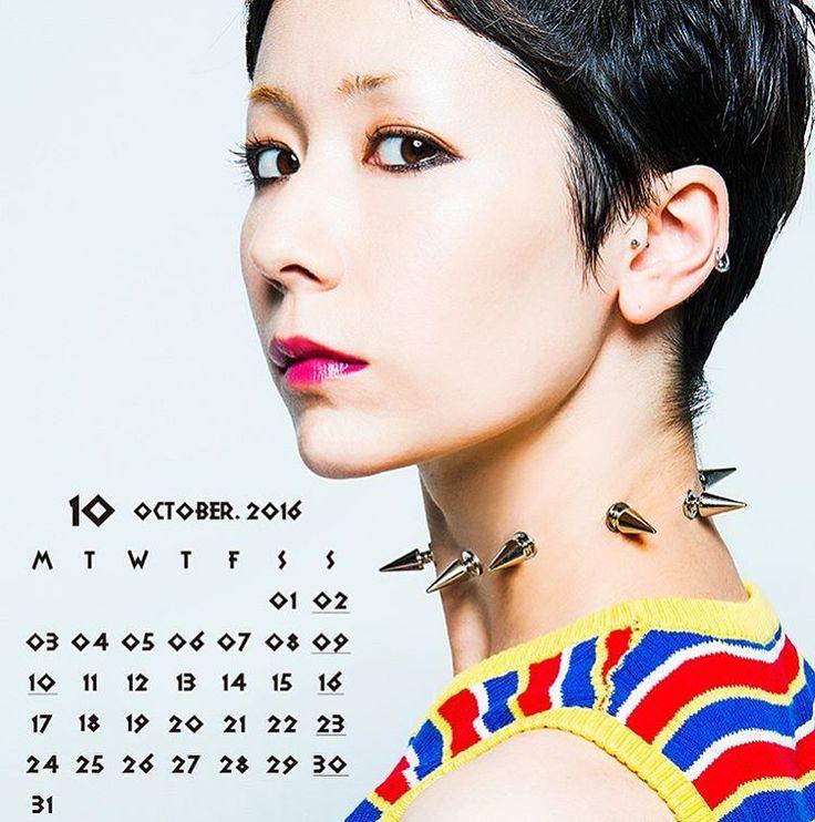 10月になりましたね♡ なんか早いなぁ〜 こぉやって歳とって いくんやろね〜🙈きゃ . 10月ゎカエラちゃん アルバムでるし ツアー始まるし楽しみ♡ . そして初めてのBAWDIESの LIVEも(*´艸`*) . 10月楽しむよ⤴︎⤴︎ #10月になりましたとさ #木村カエラ#可愛い #首の刺さりそう