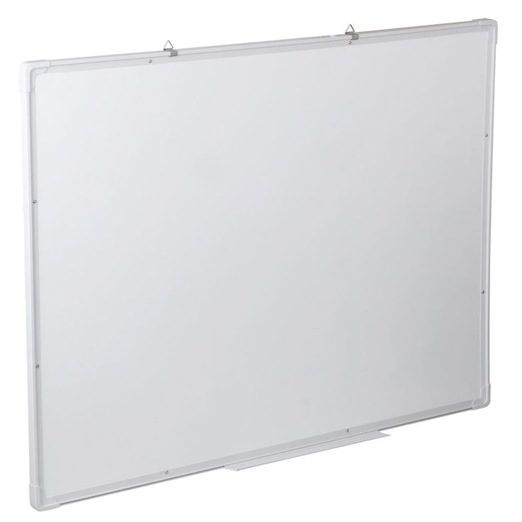 """סבירים 47 """"x 31"""" צד אחד מגנטי כתיבת לוח ציור לוח יבש למחוק משרד לבן"""