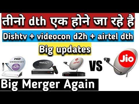 dish tv and videocon d2h merger news - Airtel Digital TV