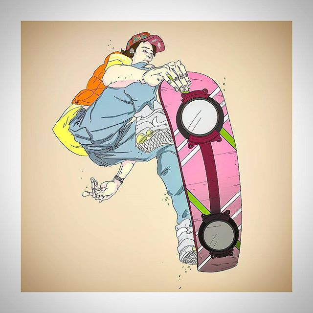 #marty #martymcfly #backtothefuture #welcomemarty #draw #drawing #tattoo #nerd #geek #illustration #illustrator #marvel #comics #popart #art #artist #shadows #sketch #sketchbook #colours #manga #anime