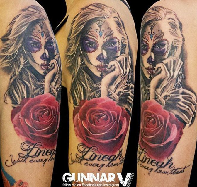 17 best images about 3 colors tattoo on pinterest animal for Art of gunnar tattoo