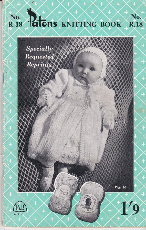 Mejores 735 imágenes de Vintage Knitting en Pinterest | Tejido de ...