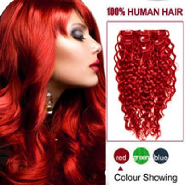 #RedClipinHairExtensions by Our site made with 100% Human Remy Hair. bit.ly/1nmIuFA
