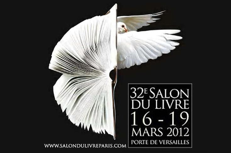 Le salon du livre, Paris 2012
