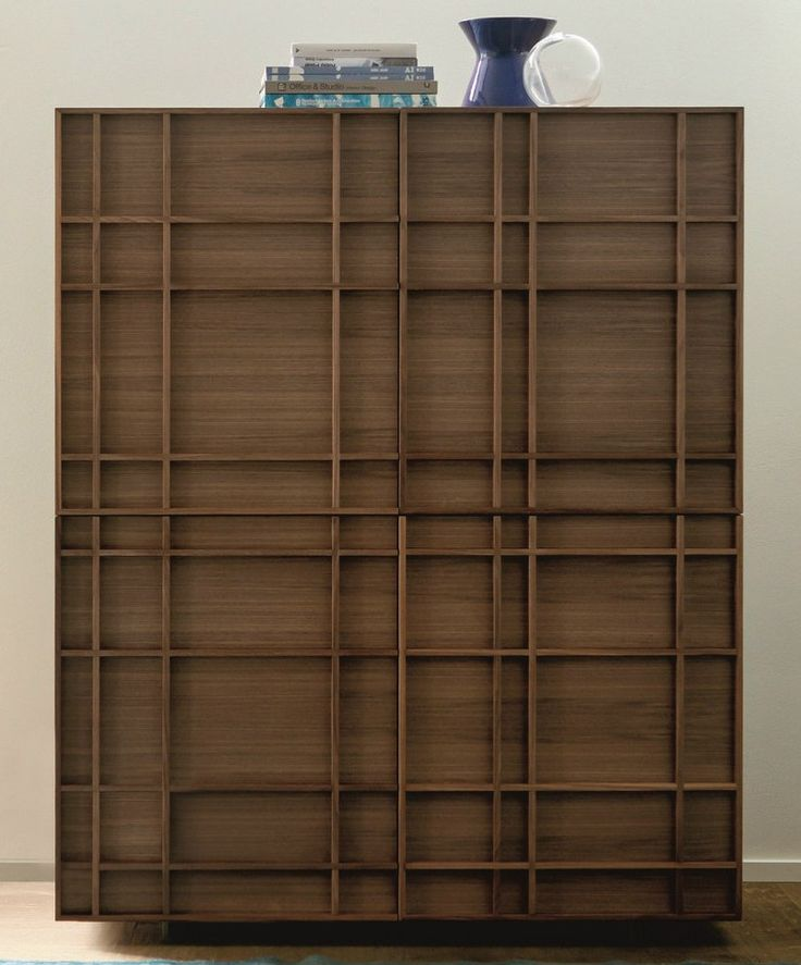 walnut highboard kilt by porada design marconato u0026 zappa architetti associati wood