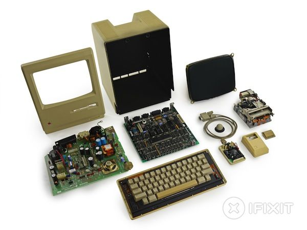The original Macintosh 128K gets torn asunder by iFixit
