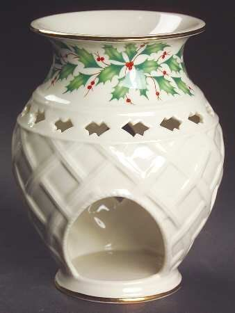 Lenox China Holiday (Dimension) Pierced Fragrance Warmer, Fine China Dinnerware Lenox http://www.amazon.com/dp/B003RVQL0W/ref=cm_sw_r_pi_dp_F1IAub17PM0D2