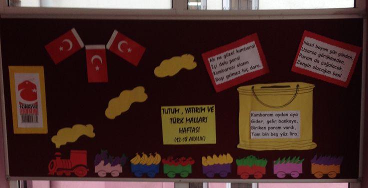 Tutum, Yatırım ve Türk Malları Haftası Panosu