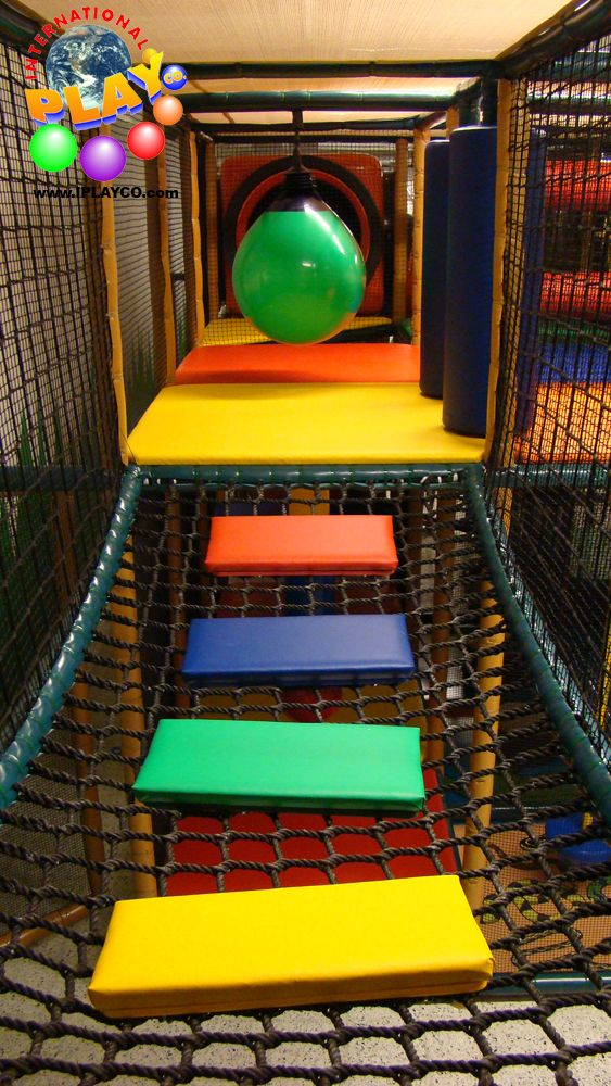 This is a bridge that is in an indoor play structure. Great addition to your design. Kids love to cross bridges in playgrounds. www.iplayco.com