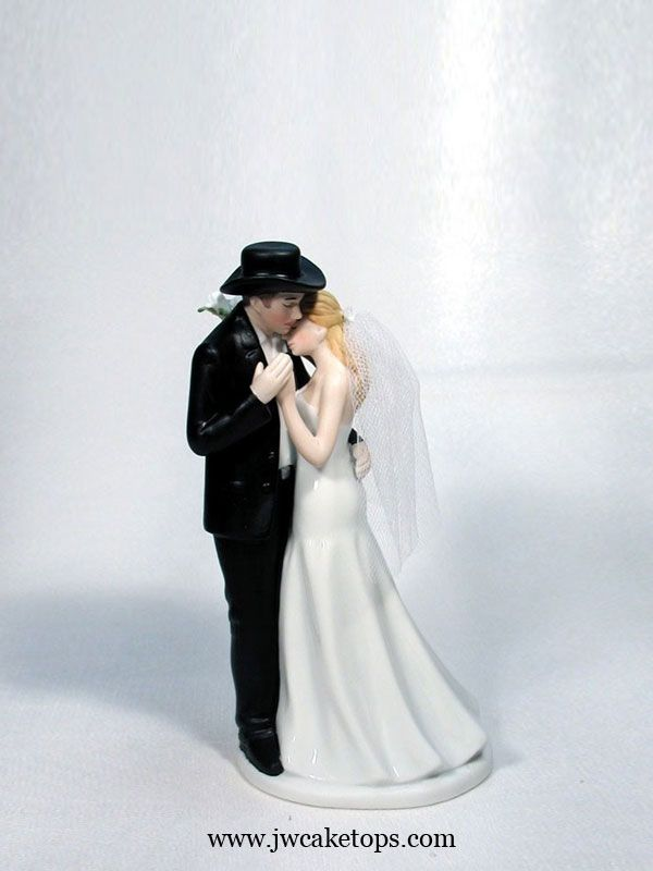 Western Serenade Wedding Cake Topper