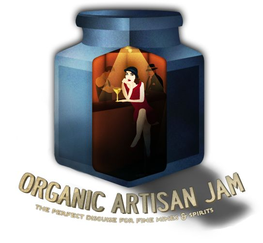 Organic Artisan Jam. The prefect disguise for our Fine Wines and Spirits