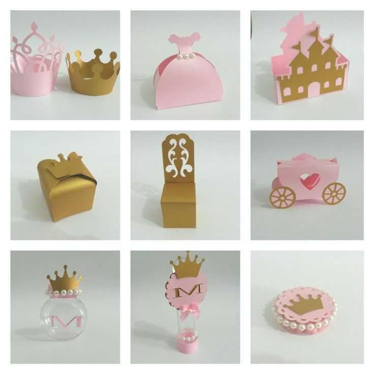 Kit Festa Princesa <br> <br>Saia para Cupcake , 1,00 * 10 = R$10,00…