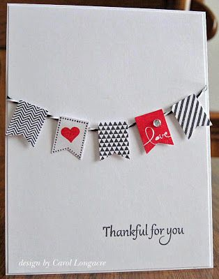 Black, white, red and love all over! By Our Little Inspirations