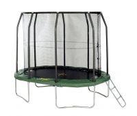 Luxury Telstar x ft Oval CLASSIC Jump Capsule FREE Cover u Ladder TrampolineLeiternKletterger steGarten