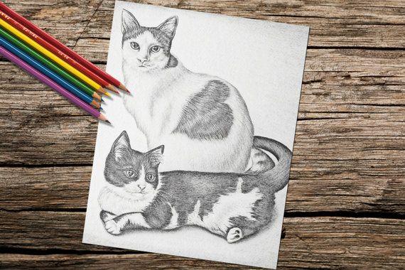 Volwassen kleurplaten pagina printbare door ArtistrybyLisaMarie