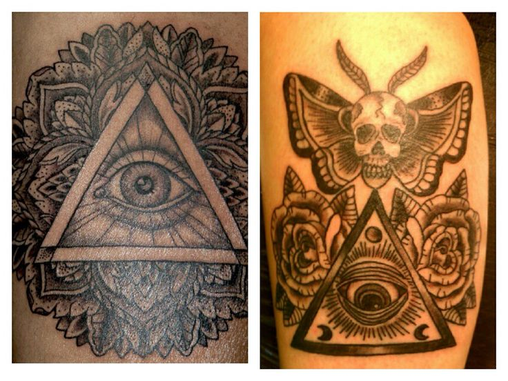 anti illuminati tattoo the image kid has it. Black Bedroom Furniture Sets. Home Design Ideas
