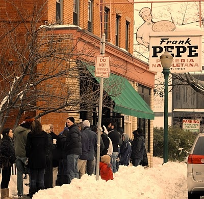 Pepe's Pizza, Wooster Square New Haven (c) Selam Dafla