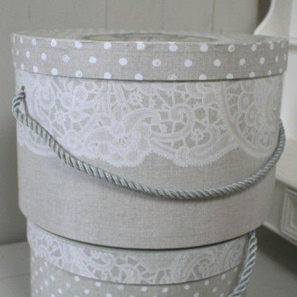 Boîte à Chapeau Lingerie Mathilde M