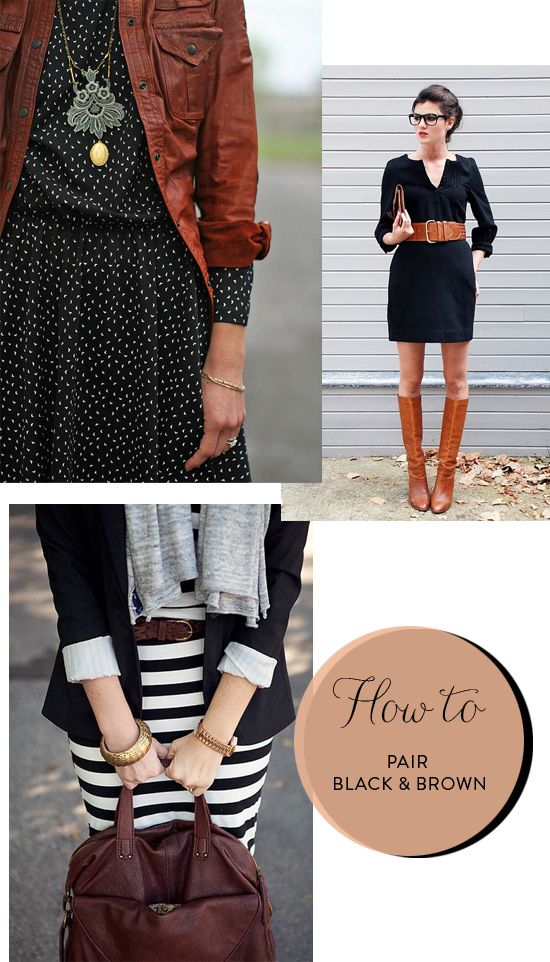 How to pair black and brown | At Home in Love