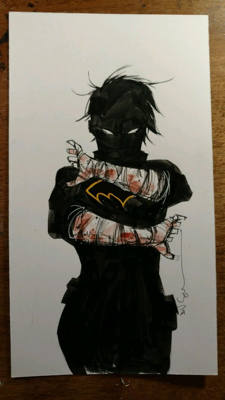 Dustin Nguyen (Batman) Original Cass Cain art +free 2016 80p artbook NO RESERVE Comic Art Auction