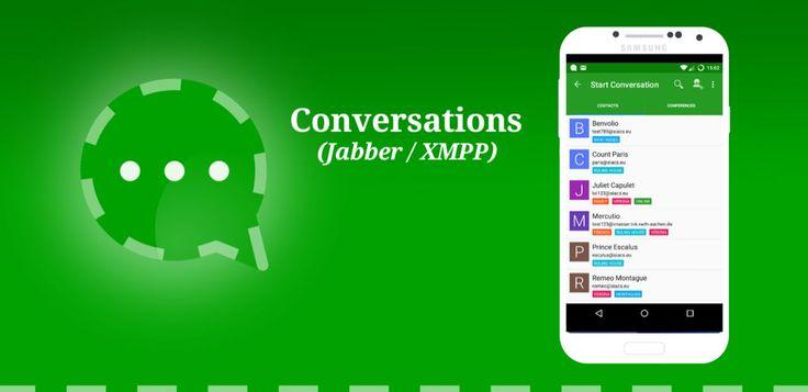 Conversations (Jabber / XMPP) v1.8.4  Miércoles 6 de Enero 2016.Por: Yomar Gonzalez | AndroidfastApk  Conversations (Jabber / XMPP) v1.8.4 Requisitos: 4.0 y arriba Descripción: Conversaciones es un cliente de Jabber / XMPP de código abierto para teléfonos inteligentes Android 4.0.Conversaciones es un cliente de Jabber / XMPP de código abierto para teléfonos inteligentes Android 4.0. Criterios de diseño  Sea lo más hermoso y fácil de usar como sea posible sin sacrificar la seguridad o la…