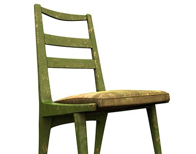 """Check out new work on my @Behance portfolio: """"Old chair"""" http://on.be.net/1DSX8GX"""