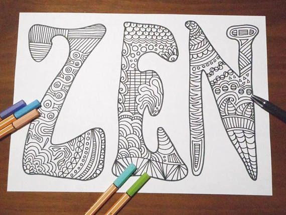 Intricate Alphabet Coloring Pages : Best coloring pages lasoffittadiste images