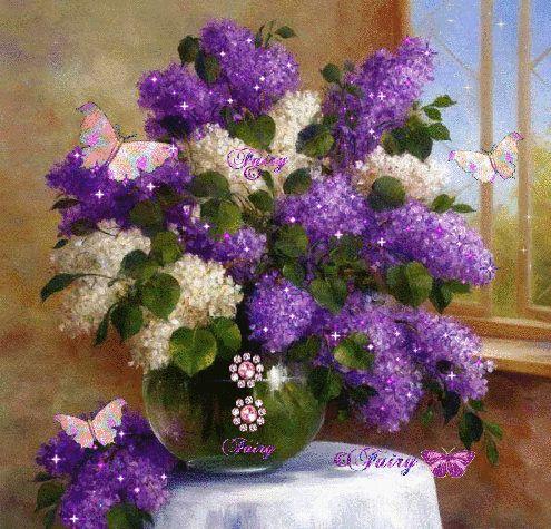 GIFS HERMOSOS: flores velas feliz cumple etc encontradas en la web