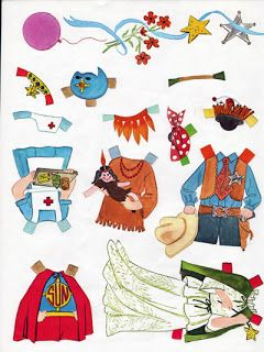 Neighbourhood Kids  WHITMAN BOOK~VINTAGE NEIGHBORHOOD KIDS PAPER DOLLS 1980