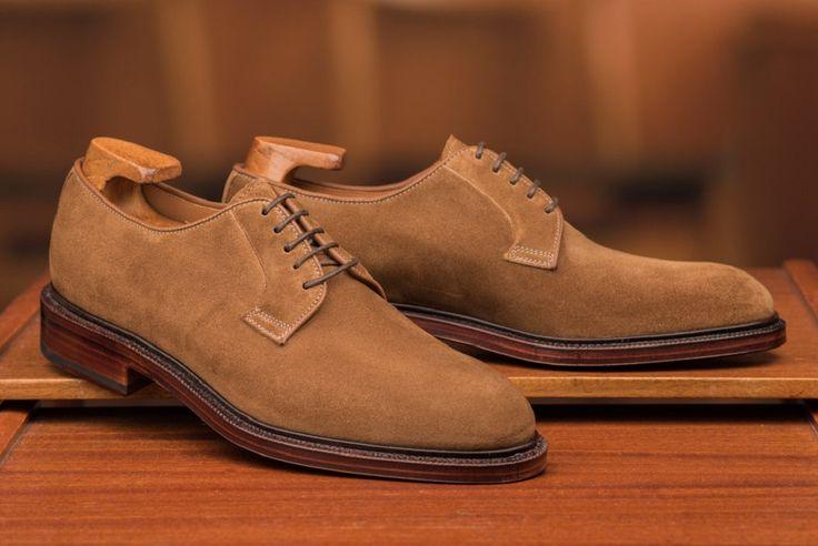 carmina-suede-suede-plain-toe-blucher-shoe
