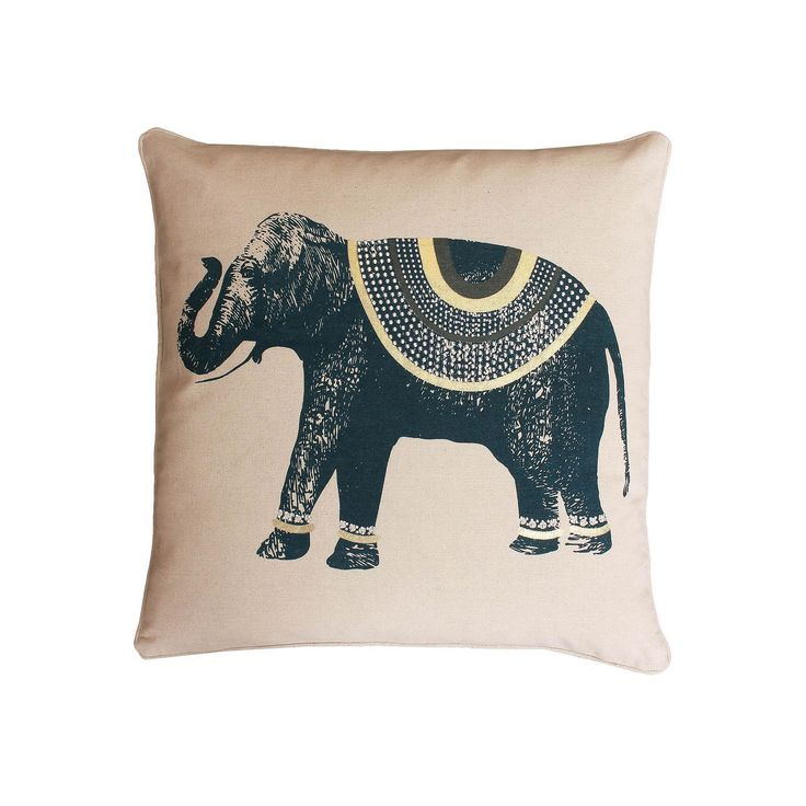 25+ best ideas about Elephant throw pillow on Pinterest Pink throw pillows, Elephant ...