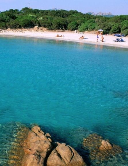 Cala di Volpe is located on the Sardinian island of Smeralda, one of the most picturesque and expensive islands in all of Italy.