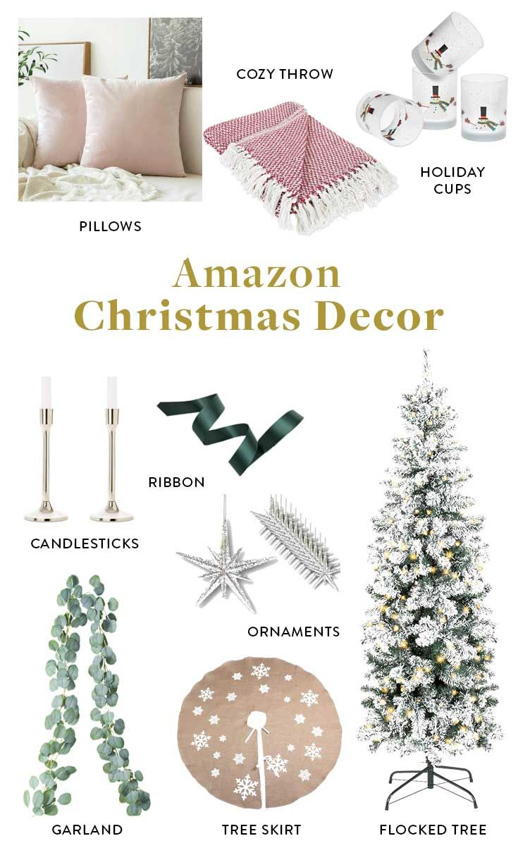 The Best Christmas Decorations On Amazon Stylish Festive Amazon Christmas Decorations Amazon Christmas White House Christmas Decorations
