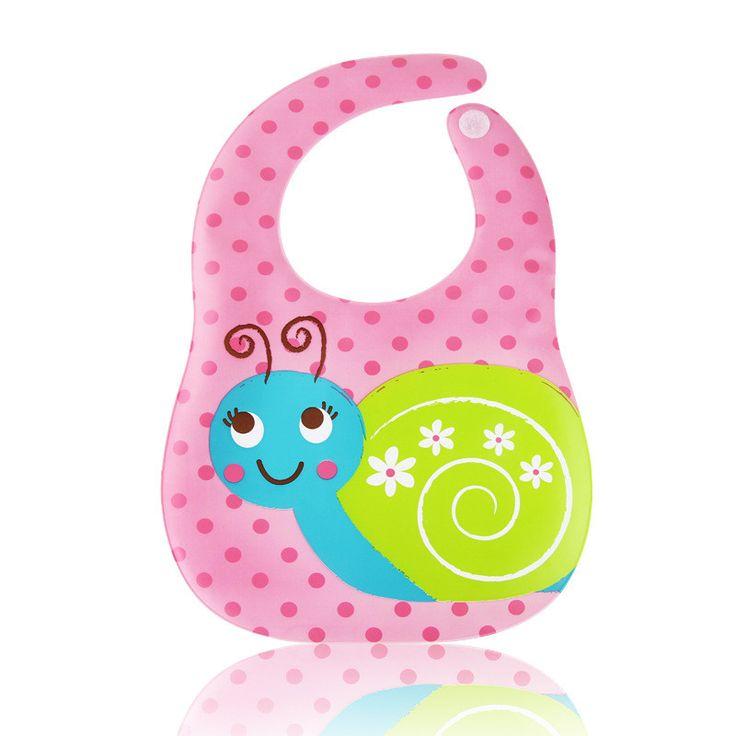 Adjustable Baby Bibs Waterproof Kids Cartoon Cute Pattern Bandana Boys Girls Infants Burp Clothes Feeding Care Lunch Bibs