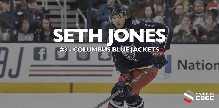 CCM Player of the Week - Seth Jones  Jones was born in Arlington, TX and was drafted in 2013 as am entry draft, 1st round NHL Defensemen